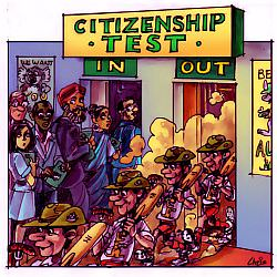 'Citizenship Test', by Chris Johnston