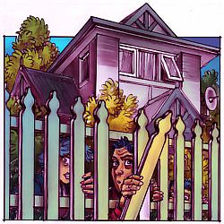 'Picket Fences', by Chris Johnston