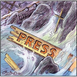 'Press ban' by Chris Johnston