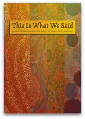 Michele Harris (Ed.): This is What We Said. Social Policy Connections, 2010.