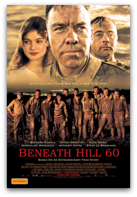 Beneath Hill 60 movie poster