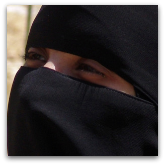 Burqa, Flickr image by CharlesFred