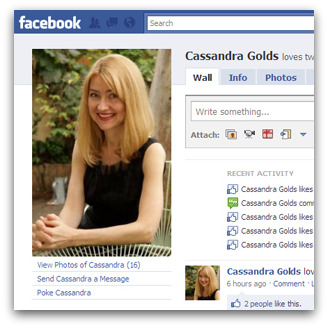 Cassandra Golds on Facebook