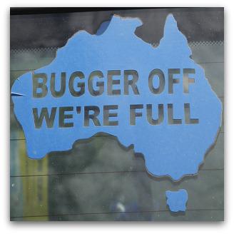 racist australians