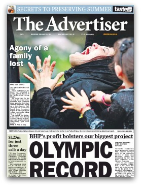 The Advertiser, Agony of a family lost