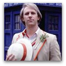 Peter Davison, the fifth Dr Who
