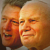 Pope John Paul II and former US President Bill Clinton