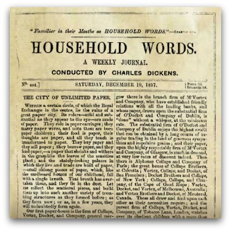 Charles Dickens 'Household Words'