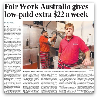 Fair Work article