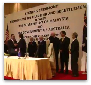 Malaysia Solution signing ceremony