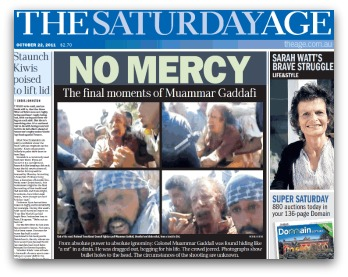 No Mercy: The Final Moments of Gaddafi