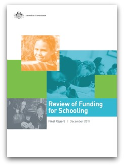 Gonski report cover