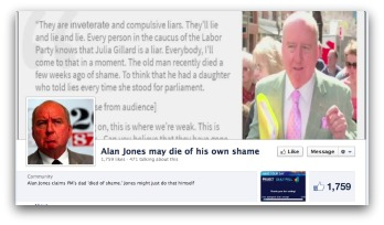 Alan Jones hate page