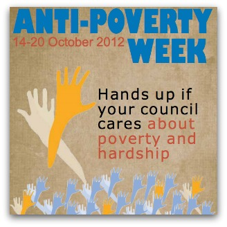 Anti-Poverty Week poster
