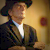 Harry Dean Stanton looks grim in Amish garb, scene from Seven Psychopaths