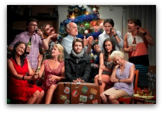 A Moody Christmas cast photo