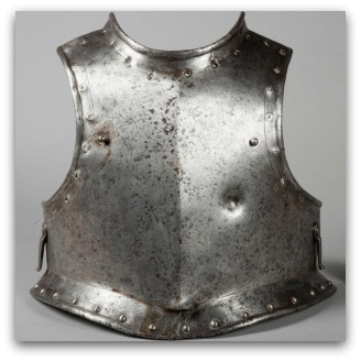 Dented armour