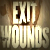 'Exit Wounds' by John Cantwell, book cover detail