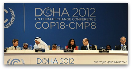 UN Climate Conference in Doha, 2013