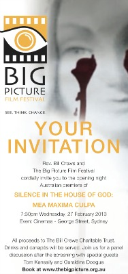 Big Picture film festival flyer