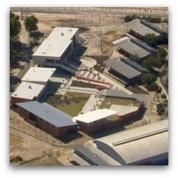 Banksia Hill Detention Centre, aerial view