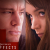 Channing Tatum and Rooney Mara in profile, looking sinister. From movie poster of Side Effects
