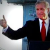 George W. Bush gives thumbs-up