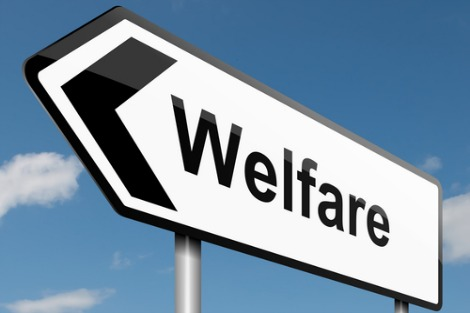 Sign points to Welfare