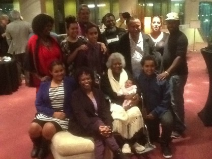 Bonita Mabo with some of Eddie's descendants