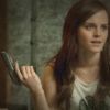 Emma Watson blithely holds a handgun in The Bling Ring