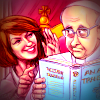 'Geraldine and Francis', by Chris Johnston. Geraldine Doogue whispers advice to Pope Francis