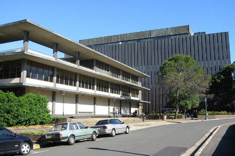 Fisher Library at University of Sydney