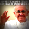 Pope Francis meme 'Who am I to judge?