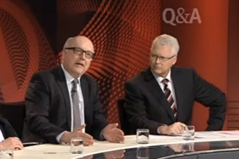 George Brandis on Q&A