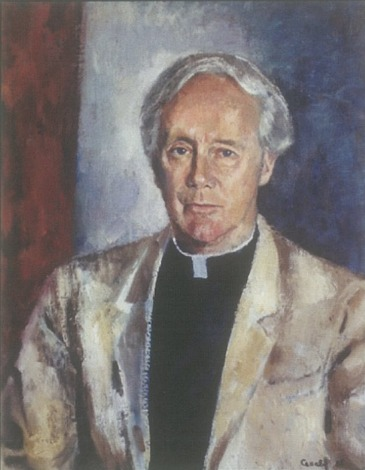 Portrait of Emmet Costello SJ by Judy Cassab