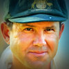 Ricky Ponting in baggy green
