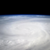 Astronaut Karen L. Nyberg posted a photo on Twitter from the International Space station of Typhoon Haiyan on 9 Nov