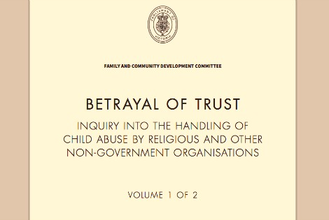 Abuse Inquiry Cover