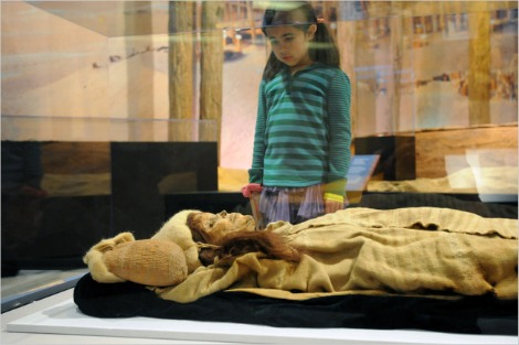 Beauty of Xiaohe — The Secrets of The Silk Road, Penn. Museum. Mummified face