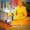 Golden Buddha statue, from Dhammakaya website