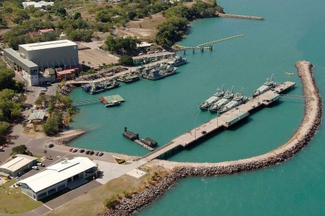 HMAS Coonawarra, the naval base in Darwin