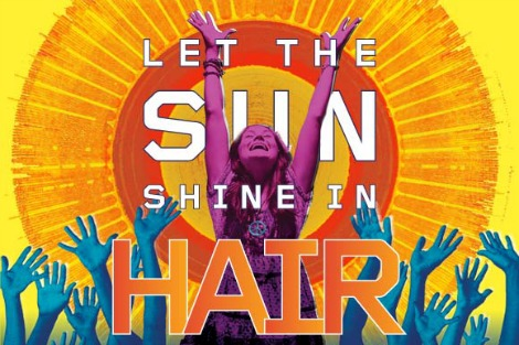 Poster from Hair the Musical