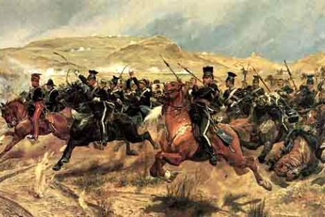 Charge of the Light Brigade Painting