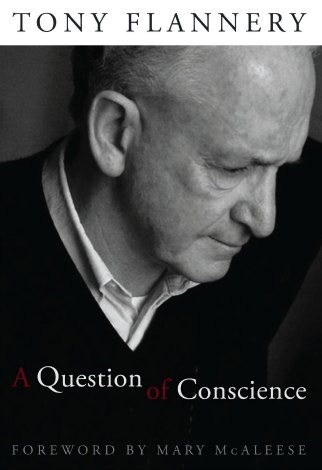 Cover image of Tony Flannery's book 'A question of conscience'