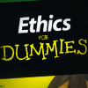 Ethics for Dummies book cover