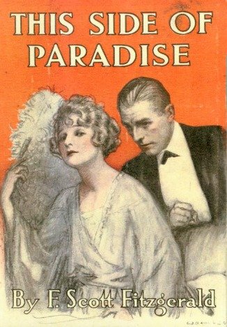 Book cover 'This Side of Paradise' by F. Scott Fitzgerald