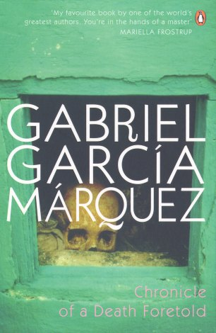 Cover image of Gabriel Garcia Marquez' Chronicle of a Death Foretold