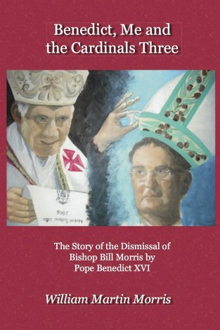 Illustration of Benedict and Bishop Morris