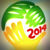 2014 World Cup promotional graphic