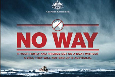 'No Way' Immigration Department Campaign